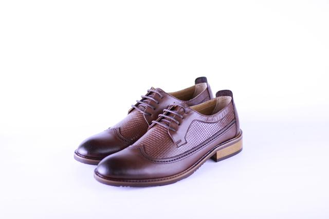 נעל אלגנט צבע חום , תמונה 3