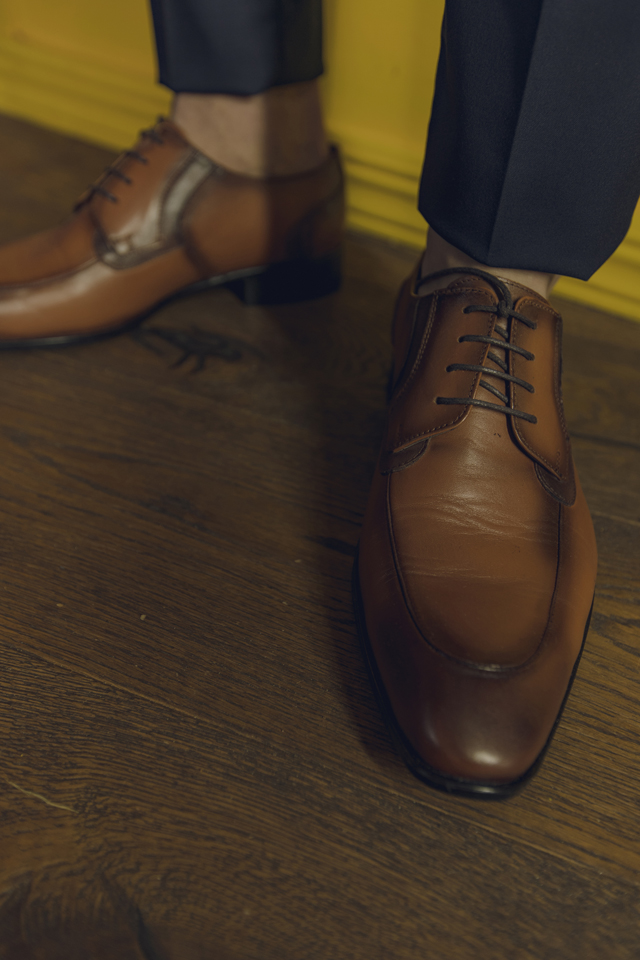 נעלי אלגנט בצבע כאמל