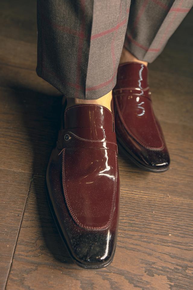 נעל אלגנט גורמה צבע בורדו