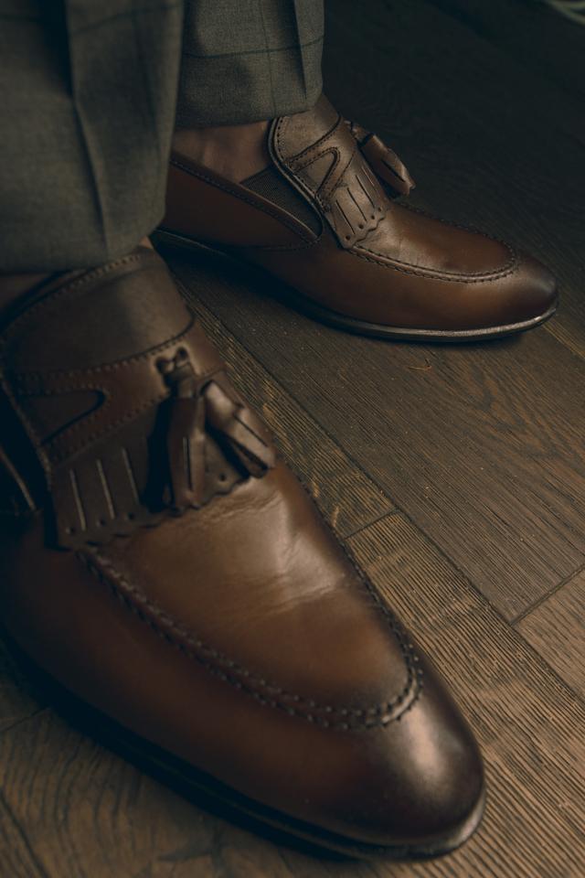 נעל בובה בצבע חום, תמונה 1