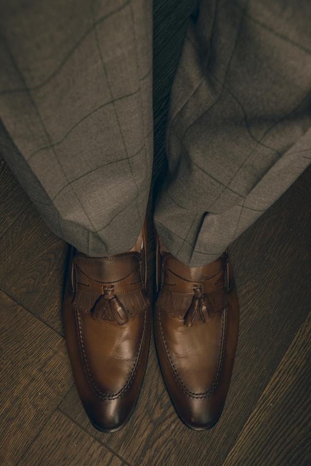 נעל בובה בצבע חום
