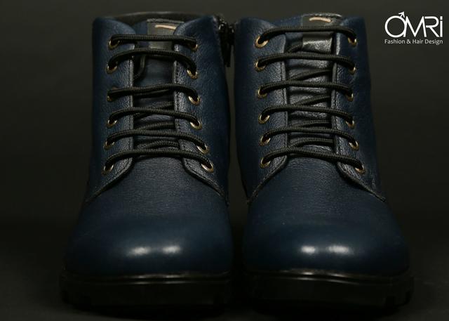 נעלי מגף בצבע חום, תמונה 1