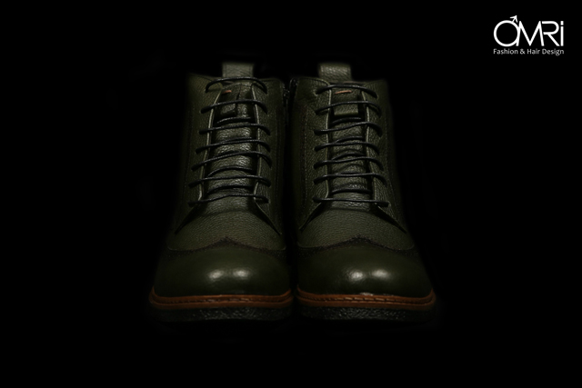 נעלי מגף בצבע חום, תמונה 4