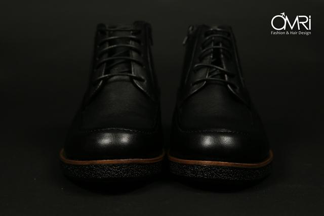 נעלי מגף בצבע חום, תמונה 9
