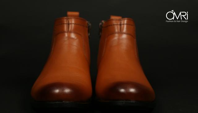 נעלי מגף בצבע חום, תמונה 8