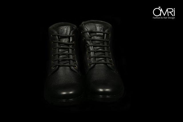 נעל מגף מעור אמיתי במקוון צבעים, תמונה 2