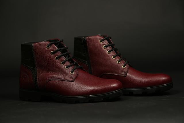 נעל מגף מעור אמיתי במקוון צבעים, תמונה 6