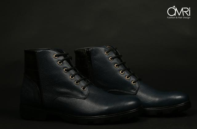 נעל מגף מעור אמיתי במקוון צבעים, תמונה 7