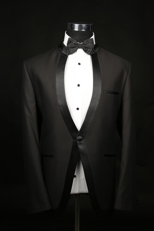 חליפה סינית בצבע שחור, תמונה 1