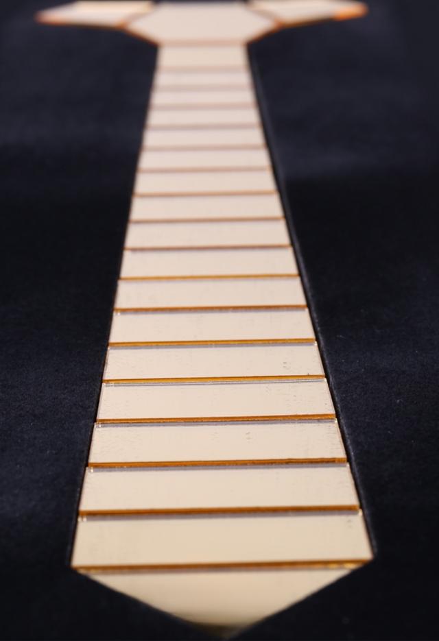 עניבה קרמי זהב מט, תמונה 3
