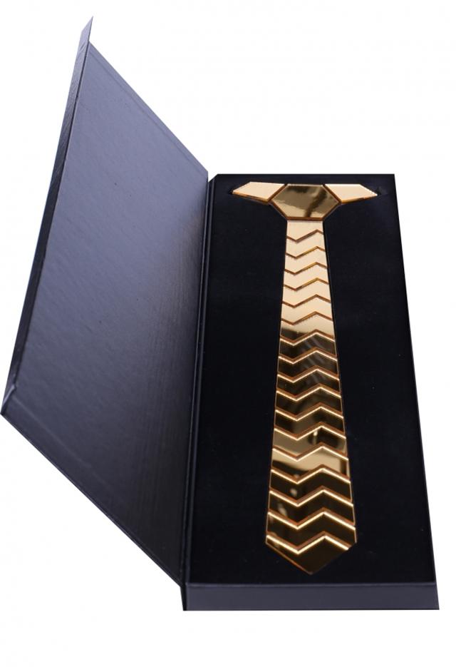 עניבה מיוחדת לחתן צבע כסף, תמונה 4